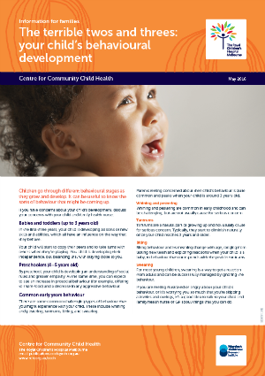 Community Paediatric Review factsheet