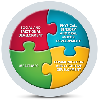 Feeding development and difficulties feeding development for Physical and motor development in early childhood