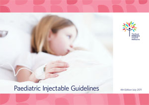Paediatric Injectable Guidelines
