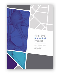 Download the Melbourne Biomedical Precinct brochure