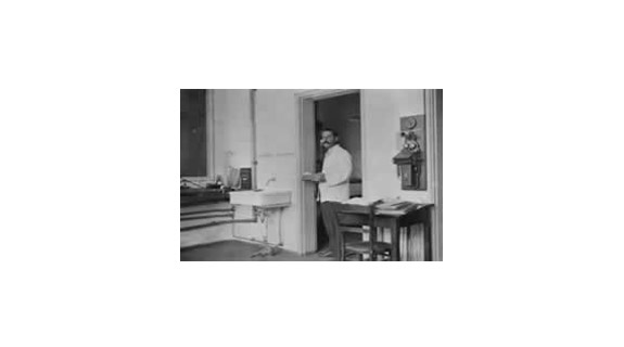 The first telephone is installed at The RCH 1891