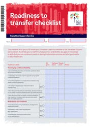Transition support service: Readiness to transfer checklist