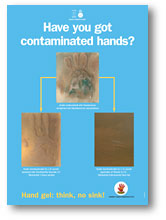 Have you got contaminated hands?